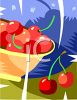 Bowl of Cherries clipart
