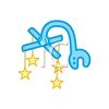 Baby's Crib Mobile clipart
