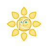 Happy Sun Design clipart