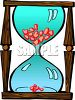 Cartoon Hourglass clipart