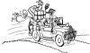 Hillbilly Family Moving clipart