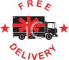 Free Delivery Sign clipart