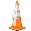 Orange Traffic Cone clipart