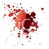 Blood Splat Design clipart
