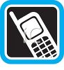 Mobile Phone Icon clipart