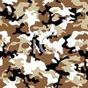 Brown and White Camouflage Pattern Background clipart