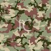 Olive Drab Classic Camouflage Pattern clipart