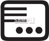 Radio Intercom Icon clipart
