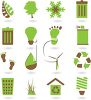 Collection of Environmental Awareness Icons clipart
