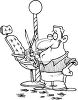 Cartoon of a Classic Barber clipart