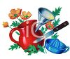 Pitcher Funnel and Juicer clipart