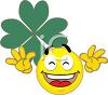 St Patrick's Day Smiley clipart
