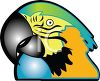 Parrot Icon clipart