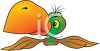 Funny Looking Parrot clipart