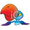Giant Billed Parrot clipart