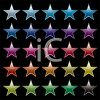Collection of Star Decals clipart