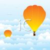 Hot Air Balloon Race clipart