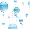 Water Bubbles Floating Up clipart