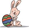 Funny Little Easter Bunny clipart