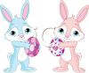 easter bunnies image