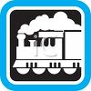 Locomotive Icon  clipart