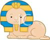 Egyptian Sphinx Cartoon clipart