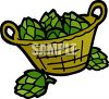 Basket of Artichokes clipart