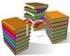 Stacks of Text Books clipart