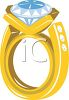 Expensive Diamond Engagement Ring clipart