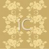 Vintage Floral Wallpaper Design  clipart