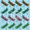 Dragonflies Pattern Wallpaper clipart