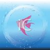 Angelfish in a Bubble Underwater clipart
