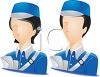 Occupation Avatar for Mail Carriers clipart