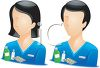 Occupation Avatar for Pharmacists clipart