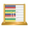 Wooden Abacus  clipart