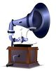 Realistic Gramophone clipart