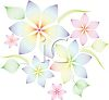 Delicate Floral Pattern clipart