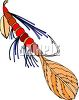 Tied Fly for Fishing clipart