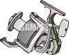 Elaborate Fishing Reel clipart