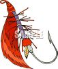 Hand-Tied Fishing Lure clipart