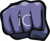 Hand Making a Fist clipart