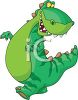 Adorable Dinosaur Cartoon clipart