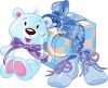 Baby Shower Gifts for a Boy clipart