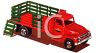 Toy Farm Truck with Removable Sides clipart