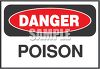 Industrial Sign that Warns of the Danger of Poison clipart