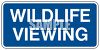 Wildlife Viewing Area Sign clipart