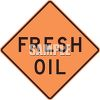 Fresh Oil Road Sign clipart