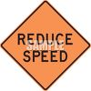 Reduced Speed Ahead Sign clipart