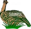 A wild Turkey clipart