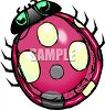 Realistic Ladybug Drawing clipart